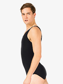 Boys Dance Cotton Tank Leotard