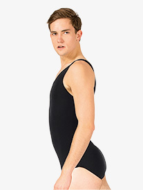 Mens Dance Cotton Tank Leotard