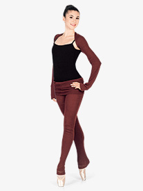 Adult Pants with Roll-Over Waist