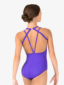 Womens Tiler Peck Strappy Back Tank Leotard