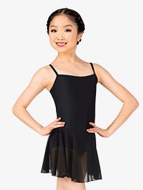 Girls Short Camisole Ballet Dress