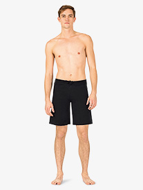 Mens Drawstring Cotton Dance Shorts