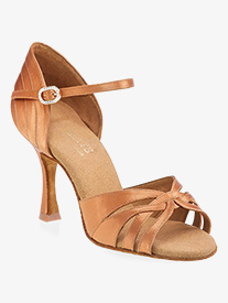 Womens Paris Elite Satin Ballroom Dance Shoes