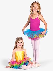 Child Rainbow Tutu Skirt