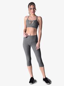 Womens High Waist Workout Leggings