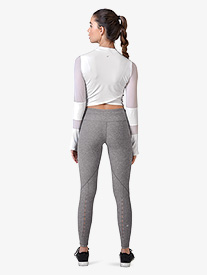Womens Peek-a-Boo Yoga Leggings