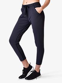 Womens Pencil Leg Cropped Workout Pants