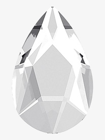 Swarovski Crystal Jewel Cut Pear Flatback
