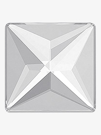 Swarovski Crystal Jewel Cut Square Flatback
