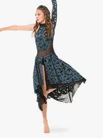Womens/Girls Million Reasons Performance Mock Neck Dress
