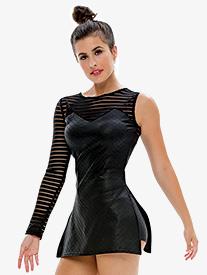 Adult/Girls Latch Asymmetrical Dress