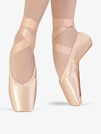 Womens Synthesis Full Sole Satin Pointe Shoes
