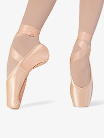 Womens Superlative Split Sole Satin Pointe Shoes