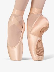 Womens Elegance Split Sole Satin Pointe Shoes
