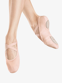 Womens Infinity Stretch Stretch Canvas Ballet Shoes