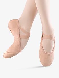 Womens Pump Canvas Split-Sole Ballet Shoes