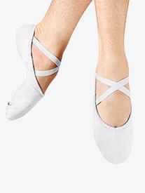 Mens Pump Canvas Split Sole Ballet Shoes