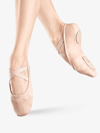 Child Zenith Stretch Canvas Split-Sole Ballet Shoes