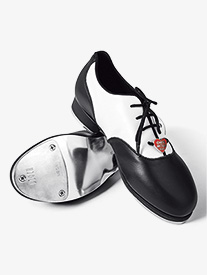 Girls Chloe and Maud Leather Tap Shoes