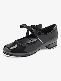 Girls Annie Tyette Synthetic Leather Tap Shoes