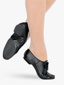 Child Jazzsoft Lace Up Jazz Shoe