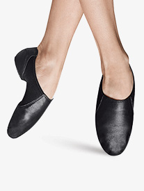 Womens Spark Split Sole Leather Jazz Shoes