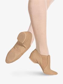 Adult Elasta Bootie Slip-On Jazz Boot