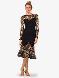 Womens Long Angelica Anemone Skirt