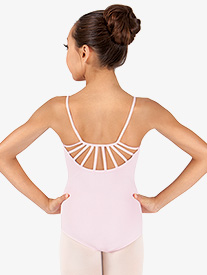Girls Camisole Strappy Back Leotard