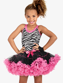 Child Tank Tutu Costume Dress