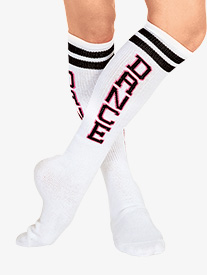 Adult DANCE Tube Socks