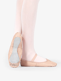 Adult Premium Leather Full Sole Ballet Shoes
