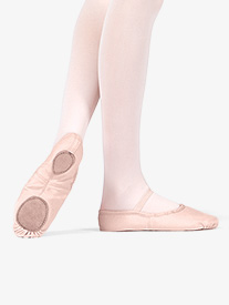 Adult Canvas Split-Sole Ballet Shoes