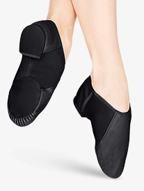 Girls Neoprene Arch Slip-On Jazz Boot