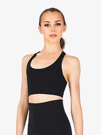 Womens Team Basics Racerback Bra Top