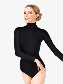 Adult Long Sleeve Turtleneck Leotard