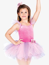 Imagination Child Flutter Sleeve Dress