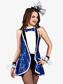 Broadway Here I Come Girls Peplum Dress