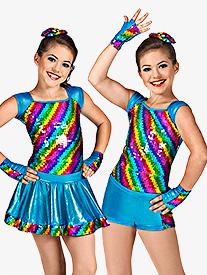 Rainbow Bright Girls Costume Set