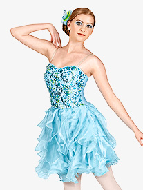 Distant Melody Adult Tiered Dress