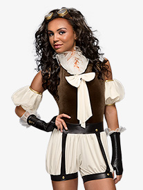 Steampunk Adult Costume Set