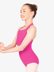 Child Halter Cotton Dance Leotard