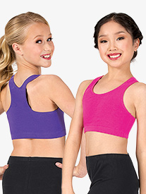 Girls Racerback Bra Top