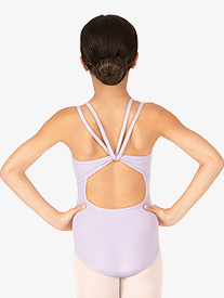 Child Double Strap Camisole Dance Leotard