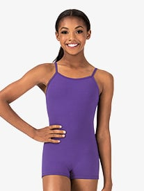 Girls Camisole Shorty Unitard