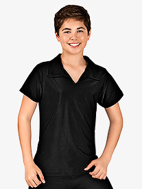 Mens Short Sleeve Collared Shirt