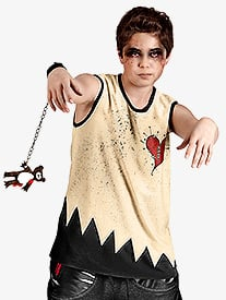 Zombie Jamboree Mens Costume Set