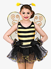 Busy Bee Girls Tutu Dress