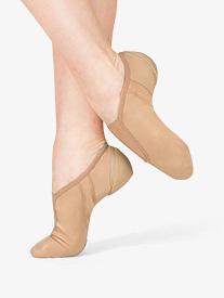 Adult Pinnacle Jazz Gore Top Neoprene Insert Leather Jazz Shoes