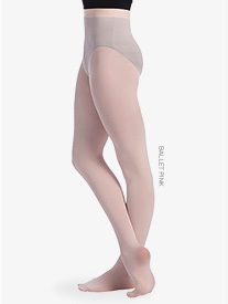 Girls Seamless Footed Dance Tights